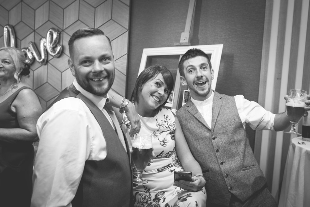 Brian McEwan | Northern Ireland Wedding Photographer | Rebecca & Michael | Ten Square Belfast Reception-72.jpg