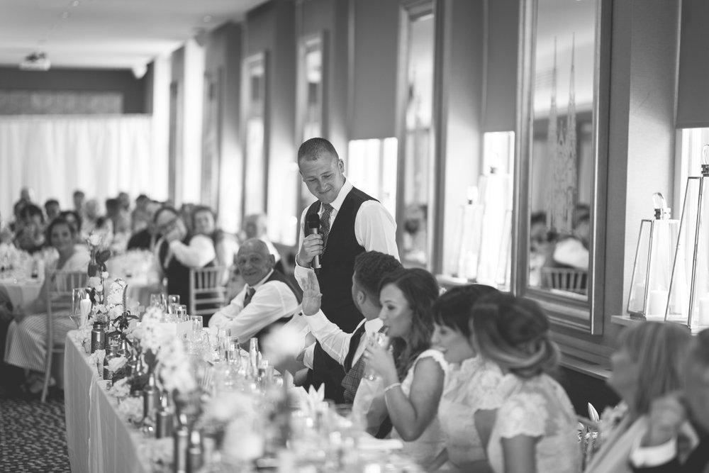 Brian McEwan | Northern Ireland Wedding Photographer | Rebecca & Michael | Ten Square Belfast Reception-138.jpg