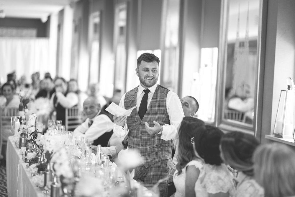 Brian McEwan | Northern Ireland Wedding Photographer | Rebecca & Michael | Ten Square Belfast Reception-150.jpg