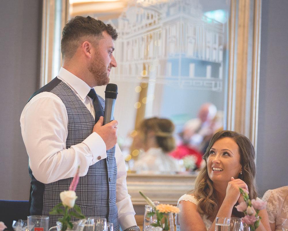 Brian McEwan | Northern Ireland Wedding Photographer | Rebecca & Michael | Ten Square Belfast Reception-152.jpg
