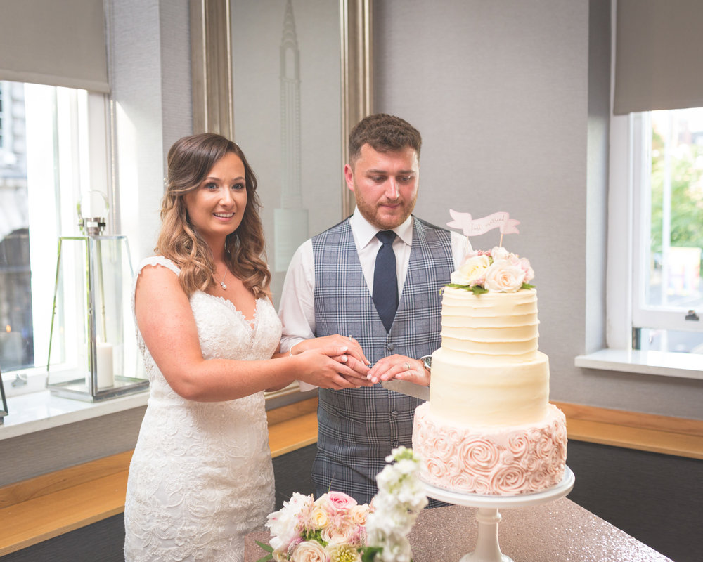 Brian McEwan | Northern Ireland Wedding Photographer | Rebecca & Michael | Ten Square Belfast Reception-159.jpg