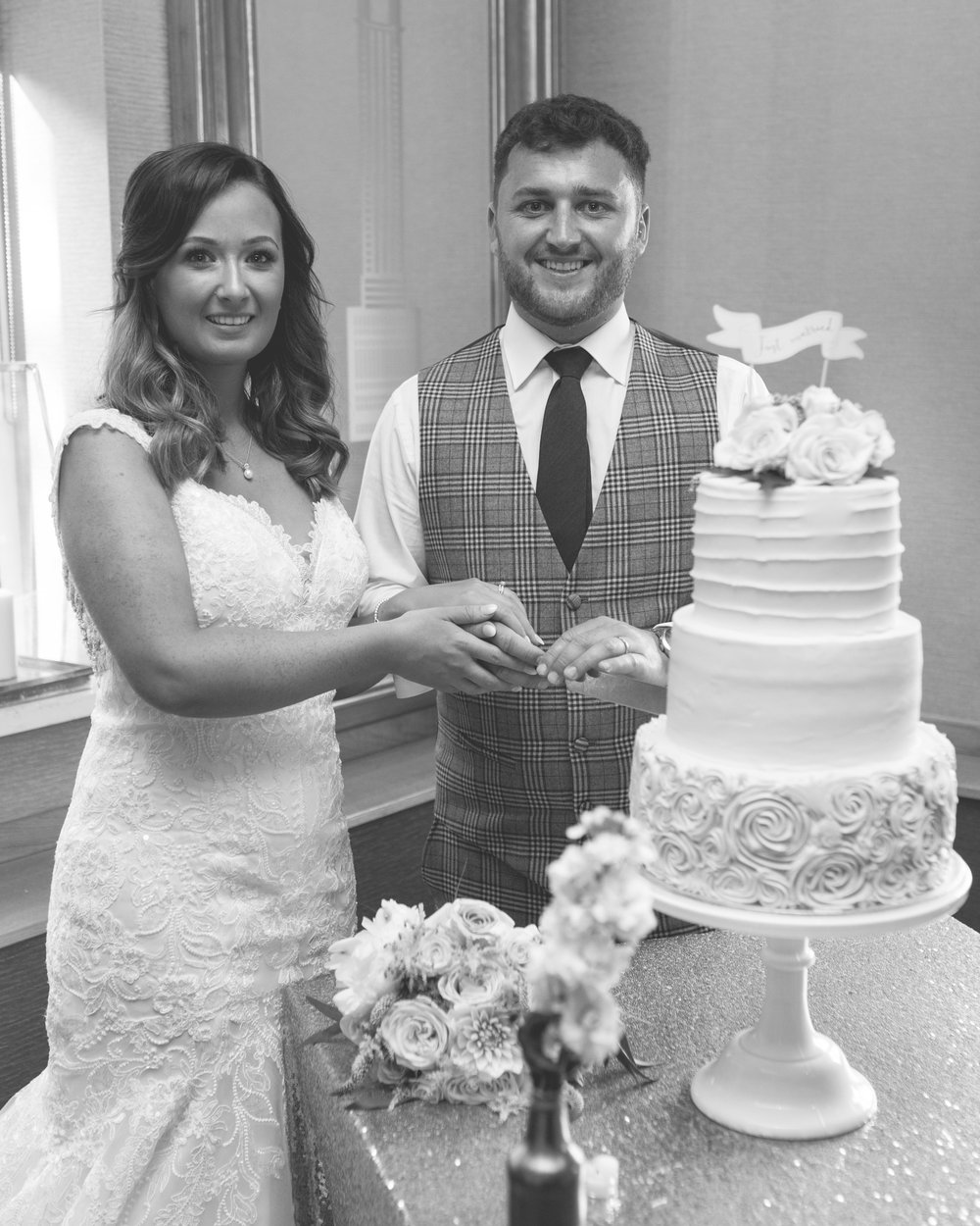 Brian McEwan | Northern Ireland Wedding Photographer | Rebecca & Michael | Ten Square Belfast Reception-161.jpg