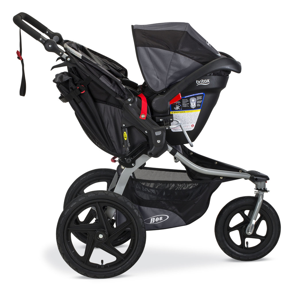 BOB Stroller with car seat adaptor