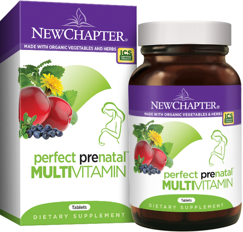 New Chapter Pre-Natal Vitamins