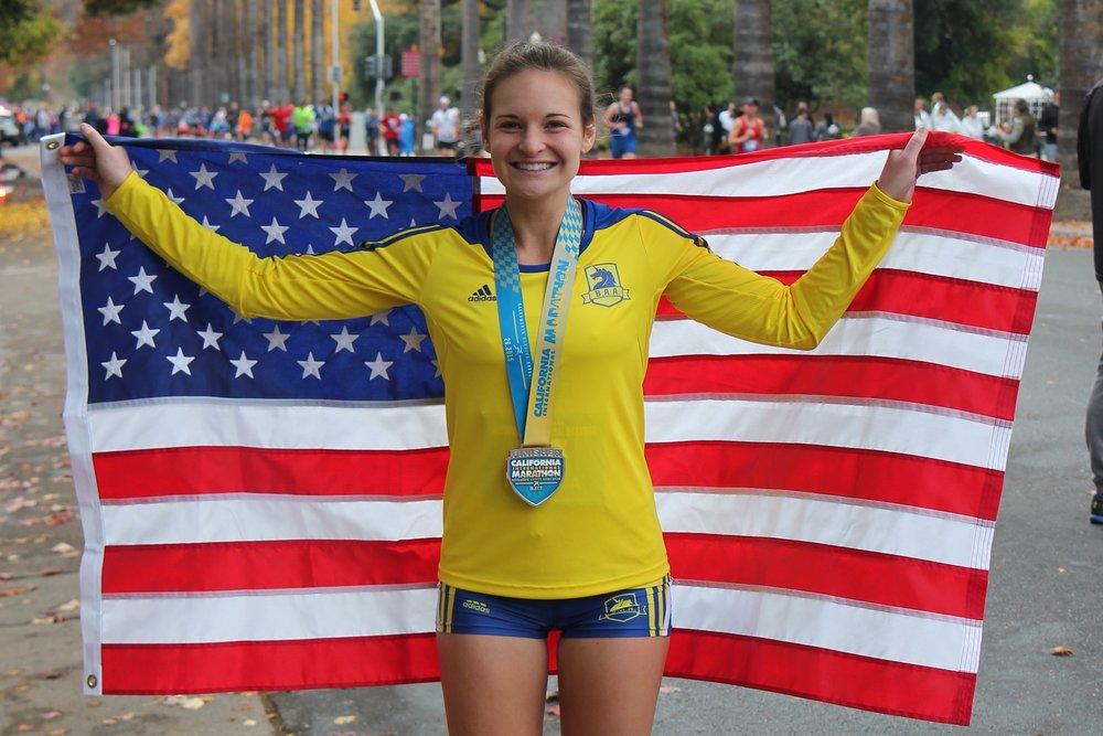 Amanda Nurse - RunBabyRun.co Founder, Elite Marathoner, Yoga for Athletes Instructor, Running Coach, and Adidas Running Ambassador. Expecting her first child, a boy, in mid-October!