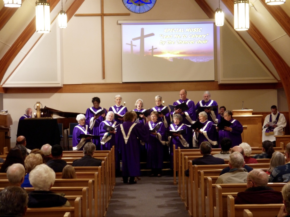Choir Performing at Lenten Service