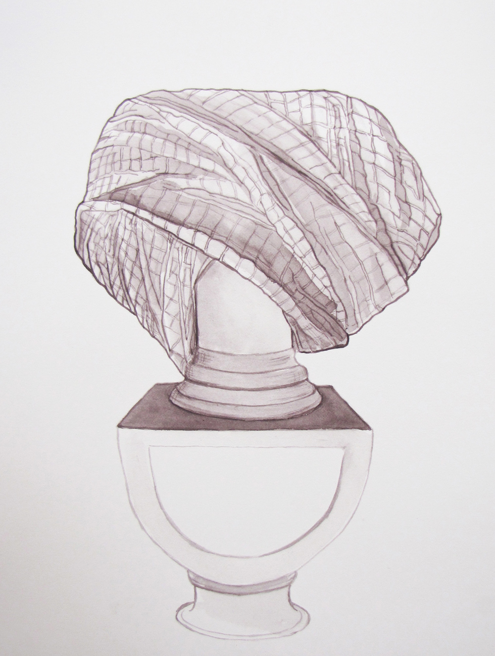 Bust 5 (plaid) 2012