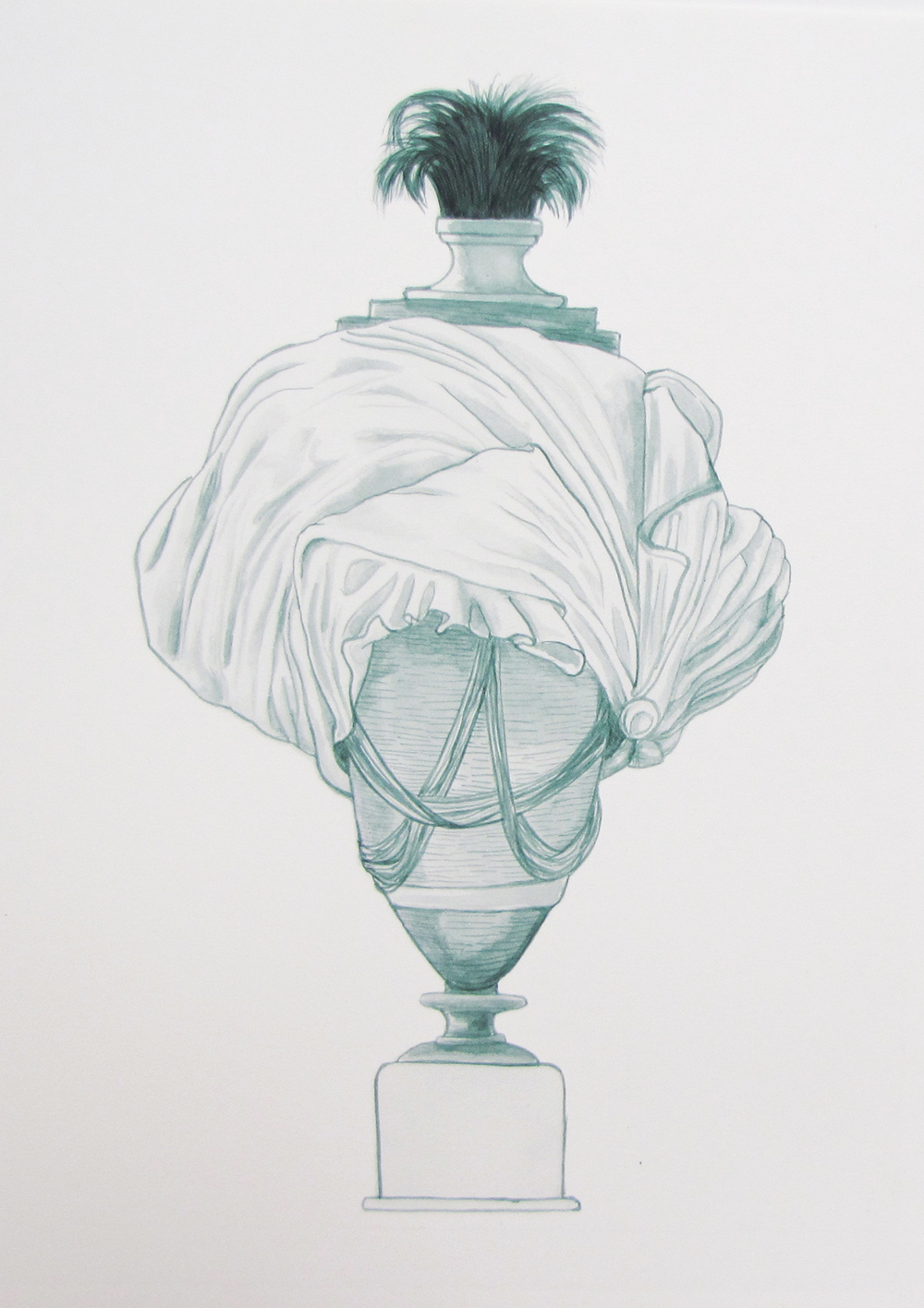 Bust/urn (mixed metaphor) 2012