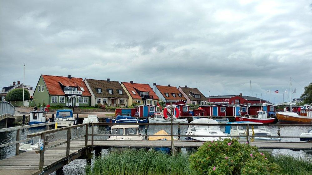 Coastal Swedish Town