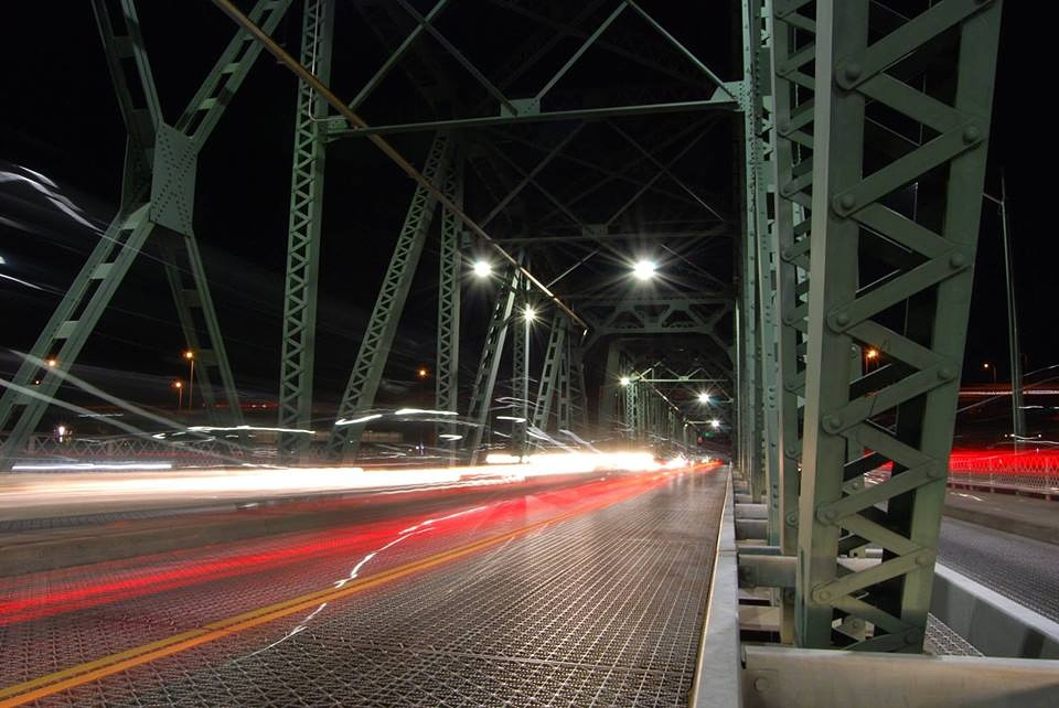 Long exposure of Hawthorne Bridge | Portland, OR