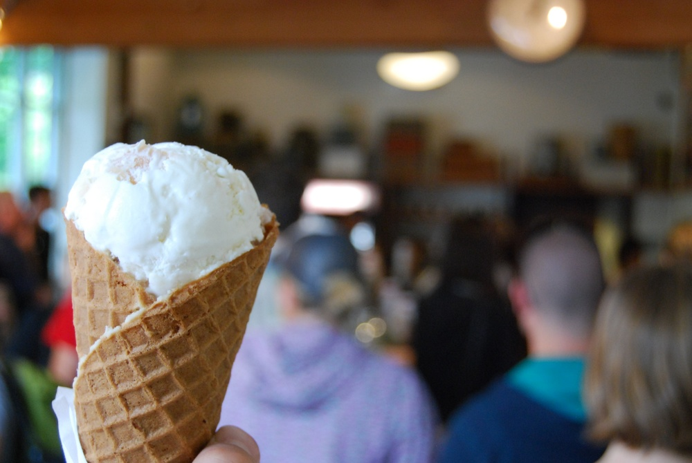 Free ice cream day! | Portland, OR
