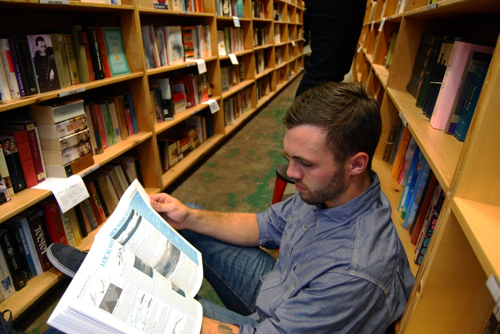 Reading at Powell's Books | Portland, OR