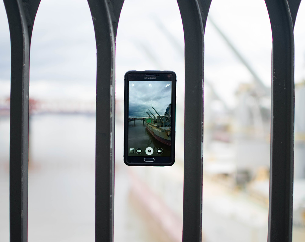 Samsung Note 4 @ Steel Bridge | Portland, OR
