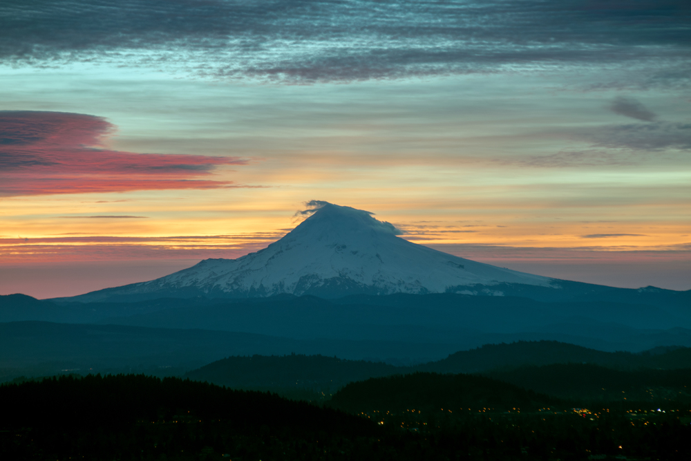 Sunrise over Mt. Hood | Portland, OR