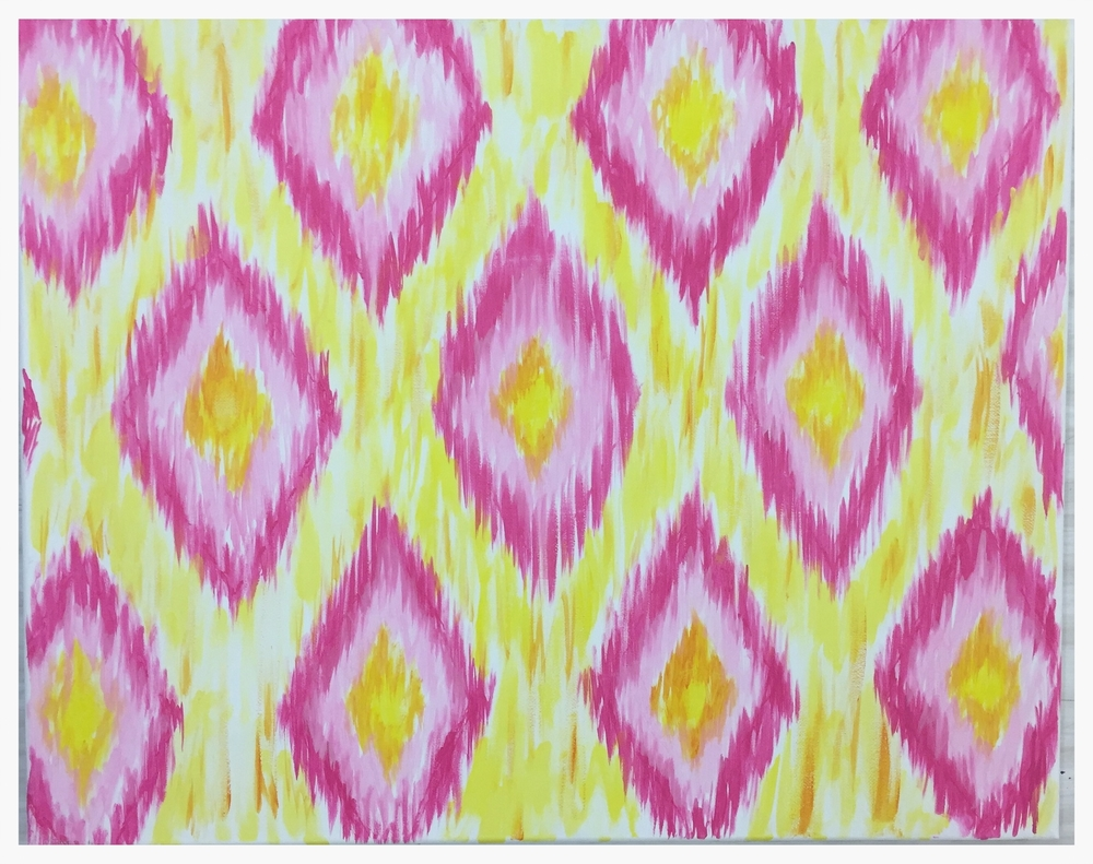 Ikat Diamonds (Small)
