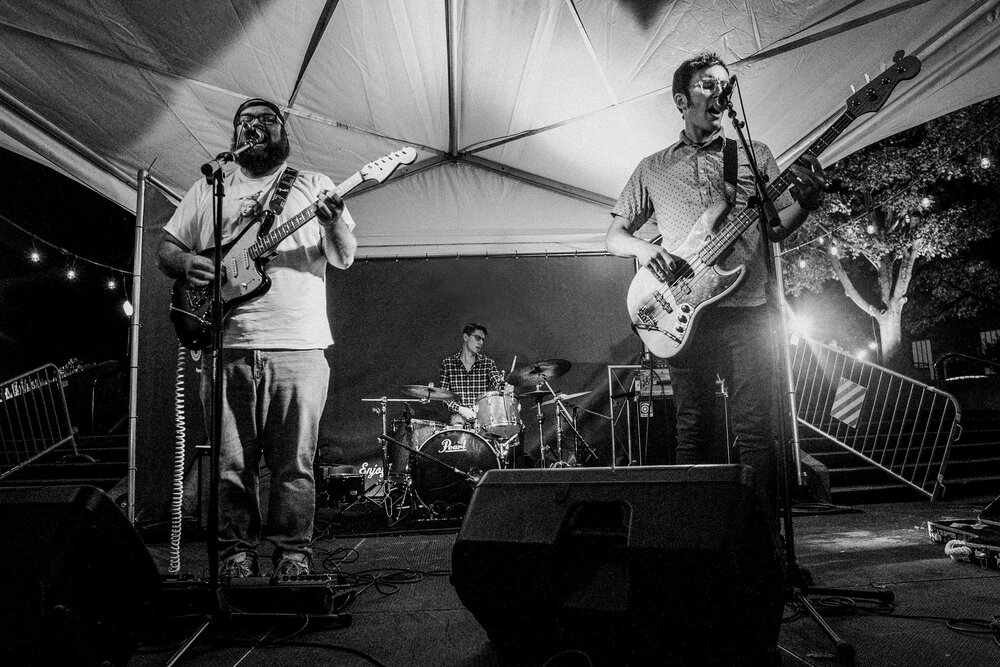 Live at Wormtown Music Festival, Greenfield, MA. Photo by Jess LaFleche.