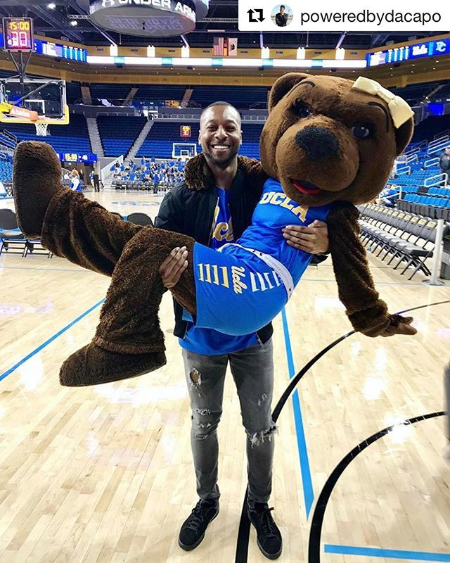 Vala DJ @poweredbydacapo will be rocking Pauley Pavilion tonight for @uclambb home opener.  #UCLA #8clap #GoBruins #ValaEnt ・・・ SHE SAID YESSSS!!! 💍 Officially back for another season of #UCLA Men's Basketball! 🐻🏀 Bruins vs Central Arkansas Tonight @ 8pm!! #DaCapoOhYesHeDid!! #JosieBruin #ValaEnt #NCAA #CollegeHoops #UnderArmour