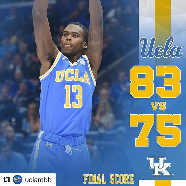Congrats on the W @uclambb. @poweredbydacapo will be back at Pauley Pavilion next weekend on the 1s & 2s.  #UCLA #ValaEnt #UclaDJ #GoBruins #8Clap