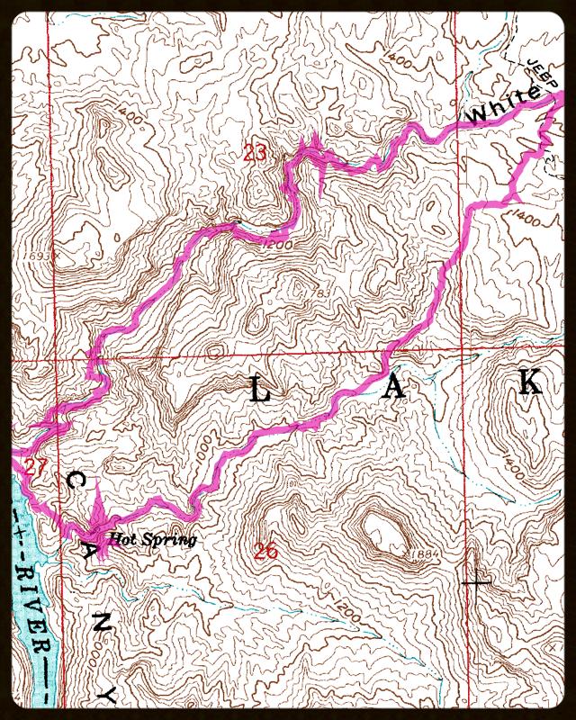 Map Of Arizona Hot Springs.Arizona Hot Springs Hike Arizona Lautzenheiser Org