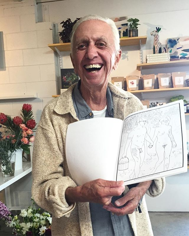 Fun for all ages!! 💙 .. I made these coloring books in pure amusement and playfulness. A photo like this fills my heart to see that energy translated!  #play #youngatheart #veryadultcoloringbooks #adultcoloringbook #veryadult #adulting #laugh #itsallgood