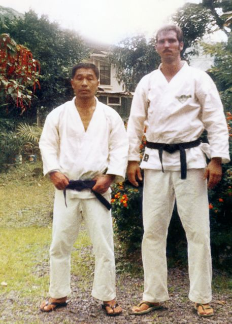 USKL Founder Dean Pickard with Sensei Nishioka