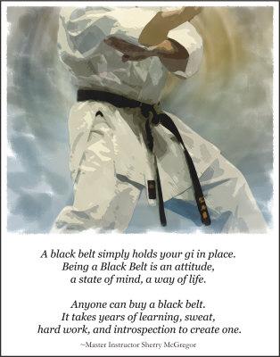 Black Belt Testing Attitude Defense Arts Center