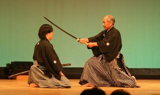 """Shomen Makko"", the first kata in Kumitachi"