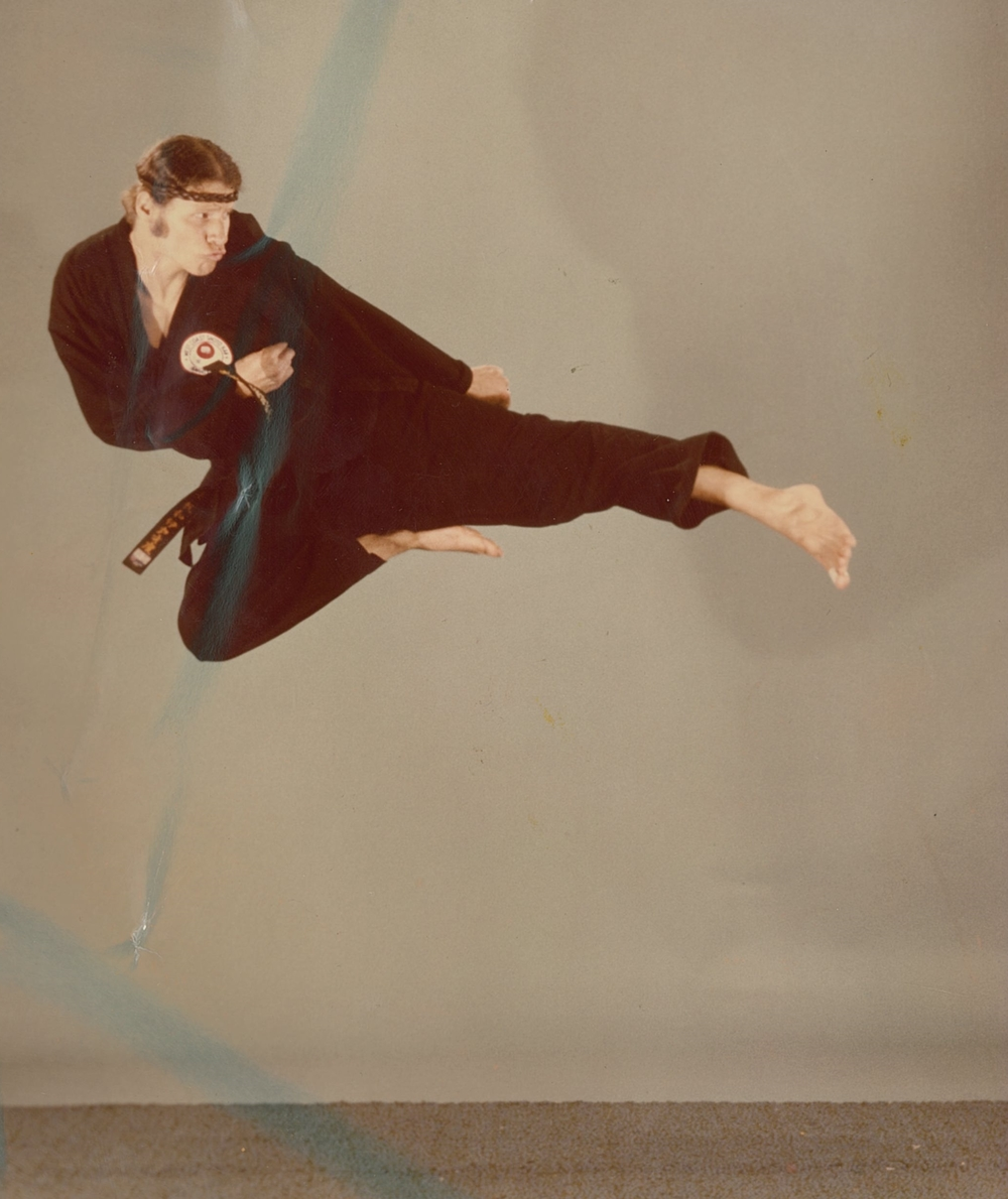 Mike Whiteside flying Side kick '70s.jpg