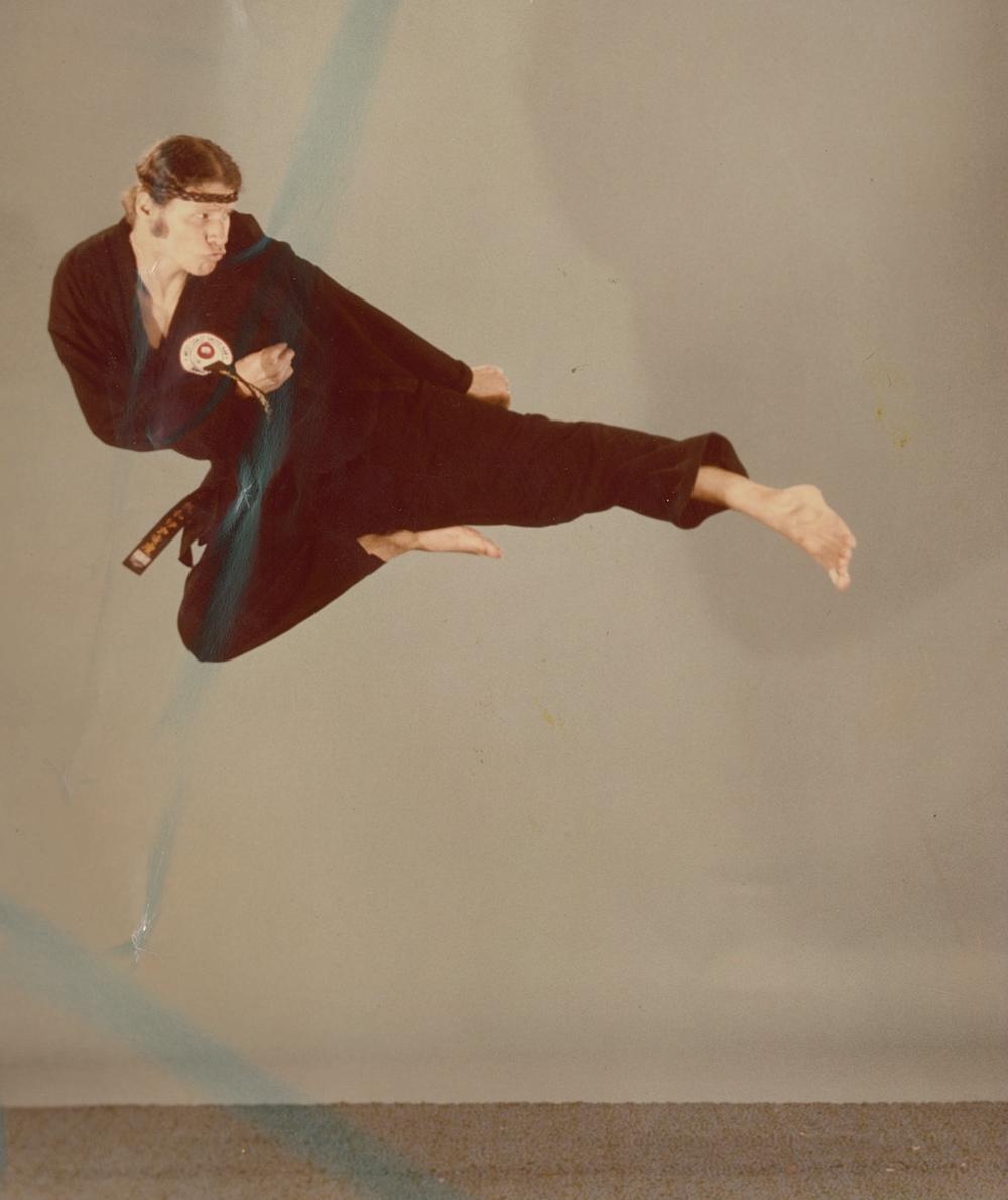 Mike Whiteside flying Side kick '70s.jpg