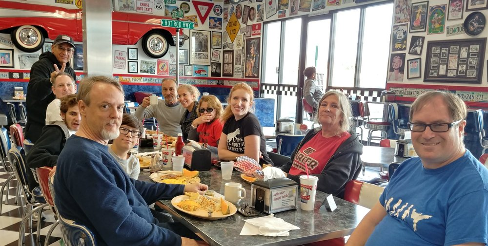 2018 Winter Gasshuku Ledgends breakfast after Claremont Loop.jpg