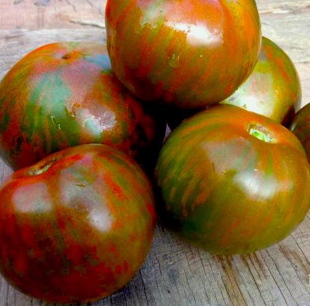 Black Zebra Heirloom Tomato