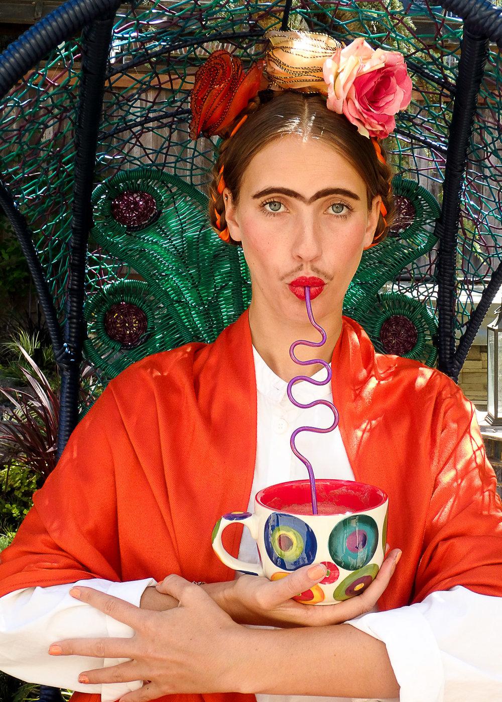 Frida Kahlo (Bourbon Biscuit)
