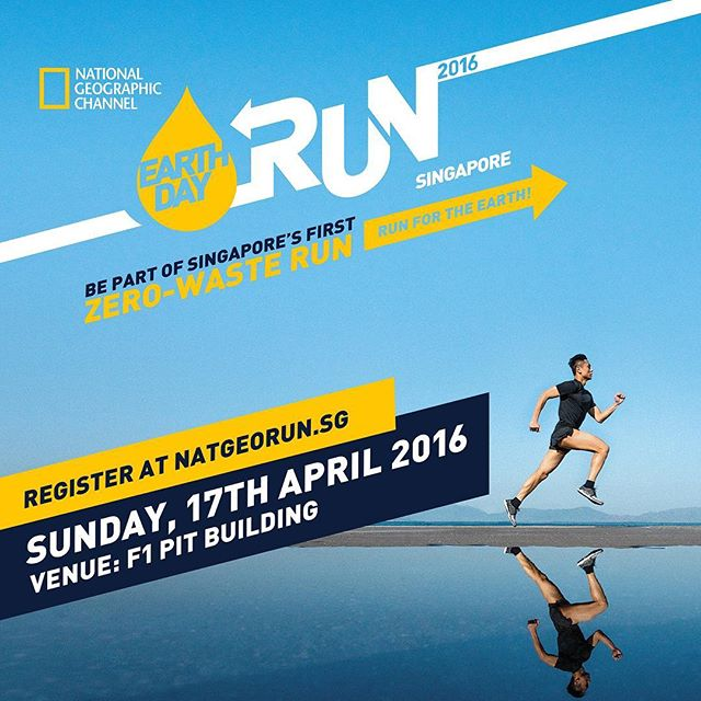 Join us at singapore's first zero waste run! We are honoured to participate in the Nat-Geo Earth Day Run for the greater good! Our fruits are sourced regionally to cut down carbon emissions, but you can also do your part by taking public transport or Cycling. Join this event and play a part in conserving our environment! 🍃