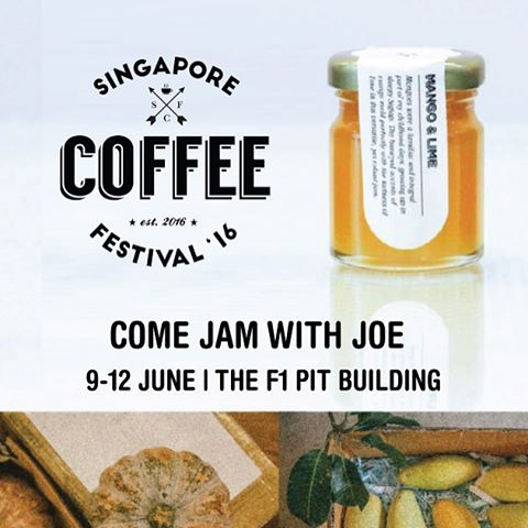 Join us at Singapore Coffee Fest 2016. There will be Joe, there will be Jam! #canyoujamwithjoe #scf2016 #singaporecoffeefestival #gsh