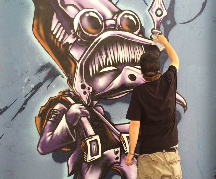 Griffin One is a Internationally recognized visual artist based out of Oakland, California, whose work spans a variety of mediums, themes & surfaces...  Read More