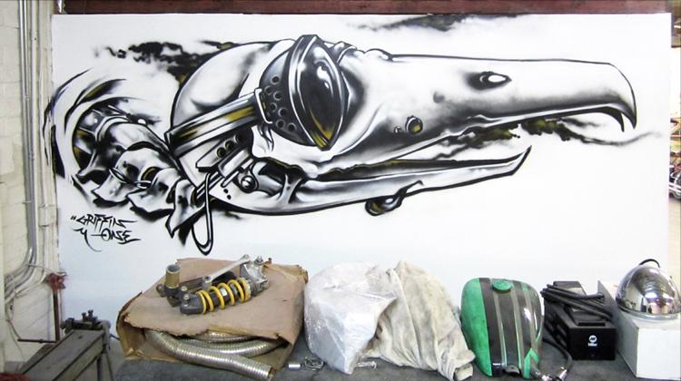 """""""Bird Skull"""" (2011)"""