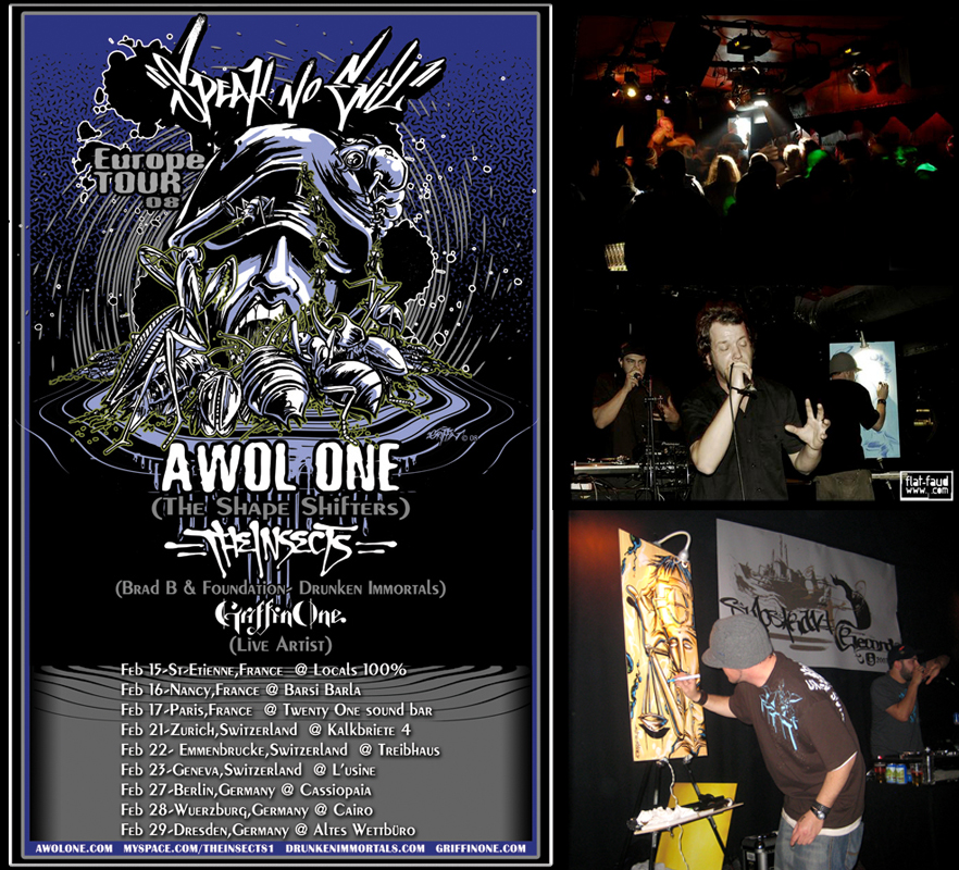 """Speak No Evil Tour 08!"""