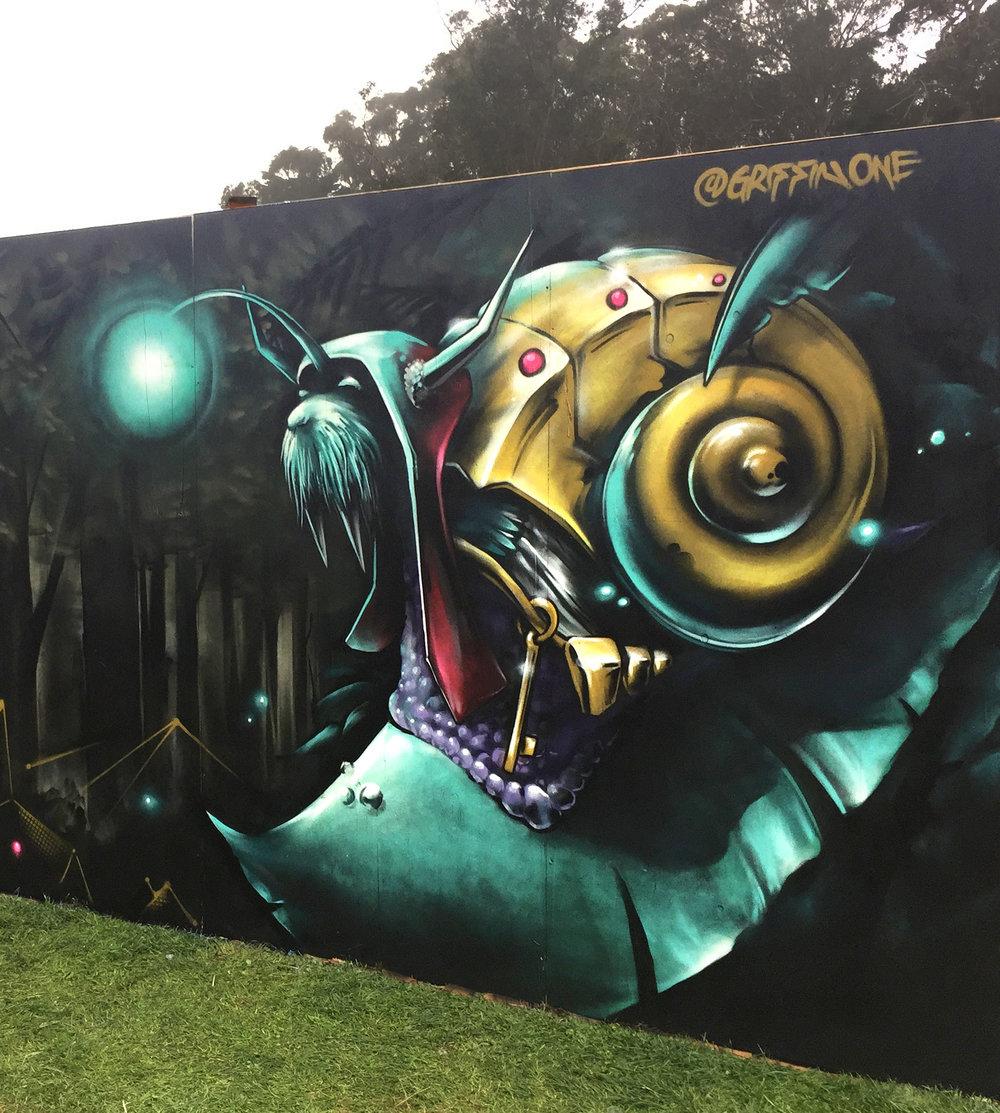"""Walrus Snail """"Outside Lands"""" Festival"""