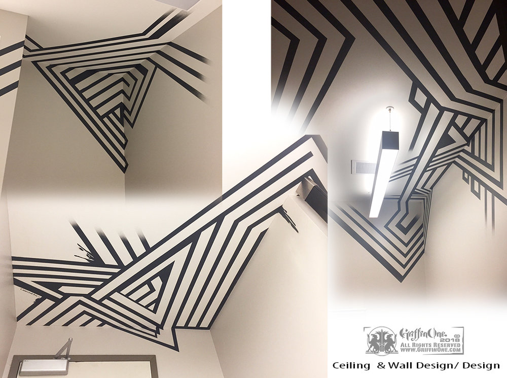 Custom Ceiling Art