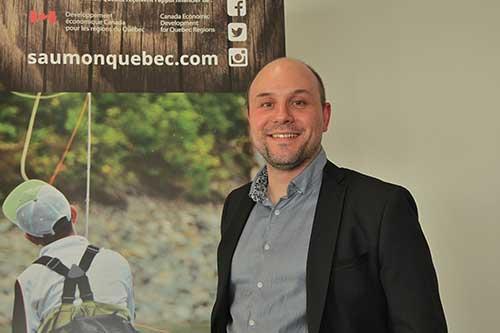 Conférence de presse Saumon Québec