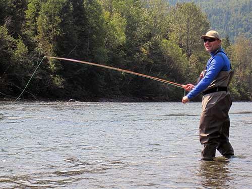La pêche au saumon atlantique en rivière