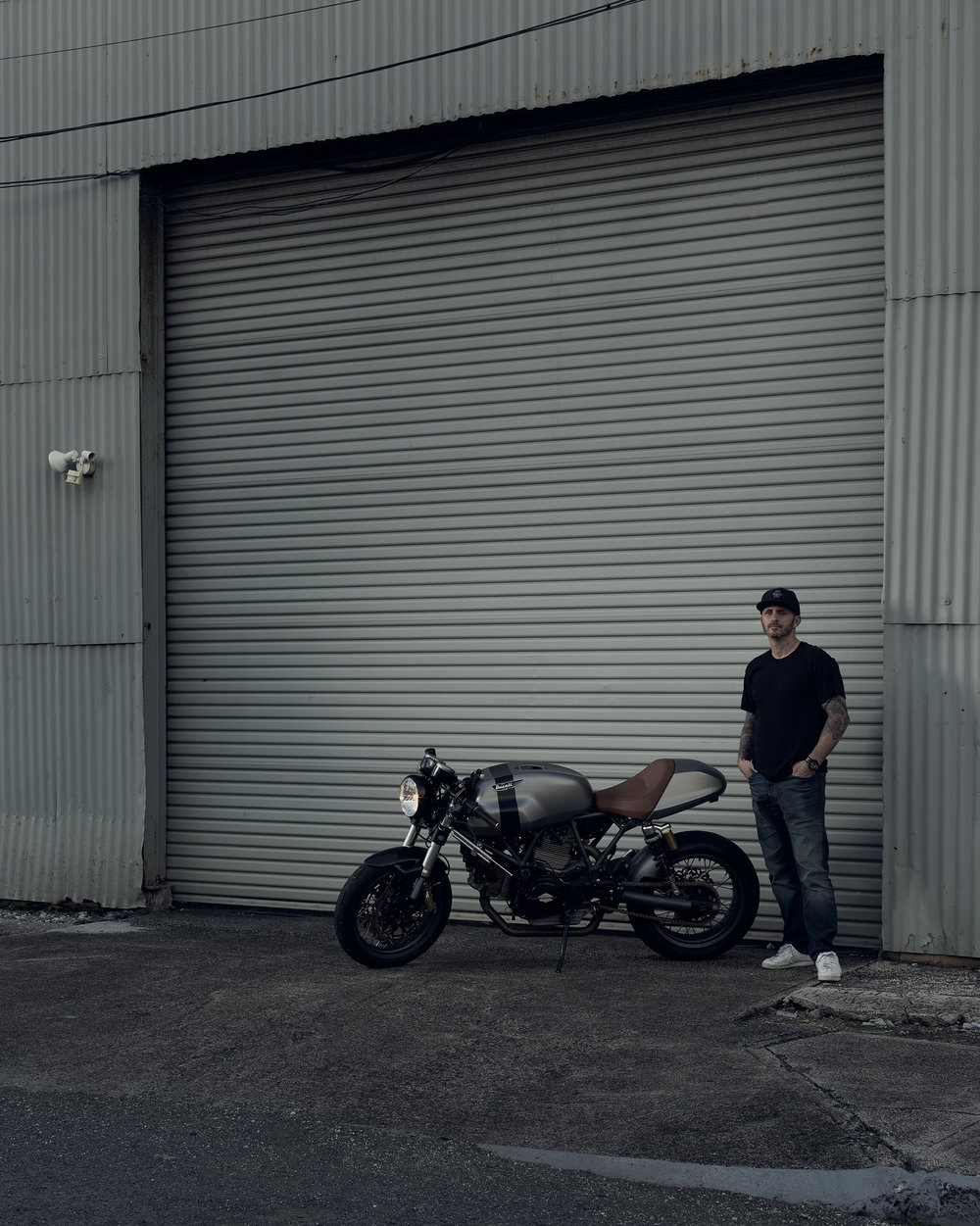 Justin - Honolulu Cafe Racer Project