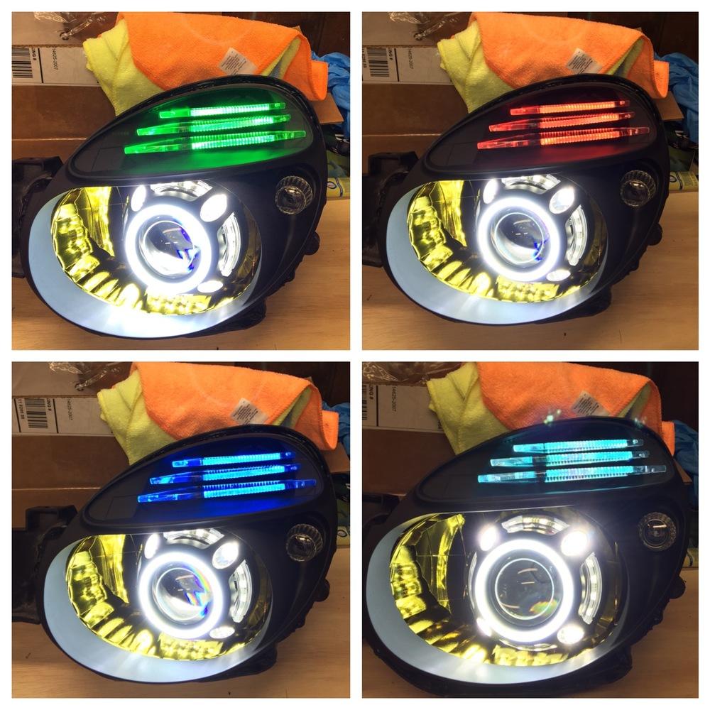 Morimoto RGB LED lit Acrylic's