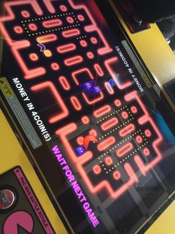 Ms Pac Man at Up-Down