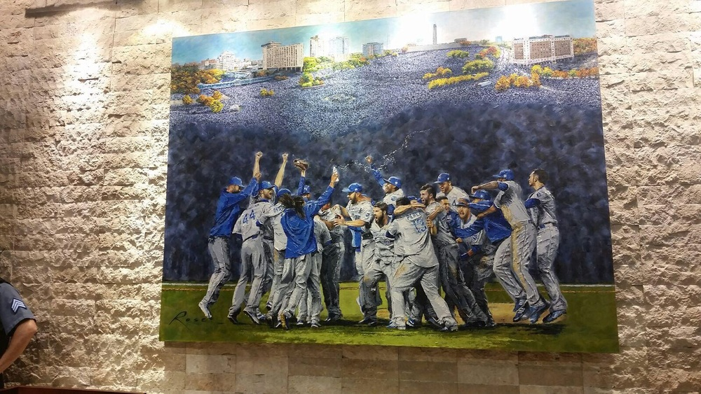 Check out this new painting in the stadium this year!