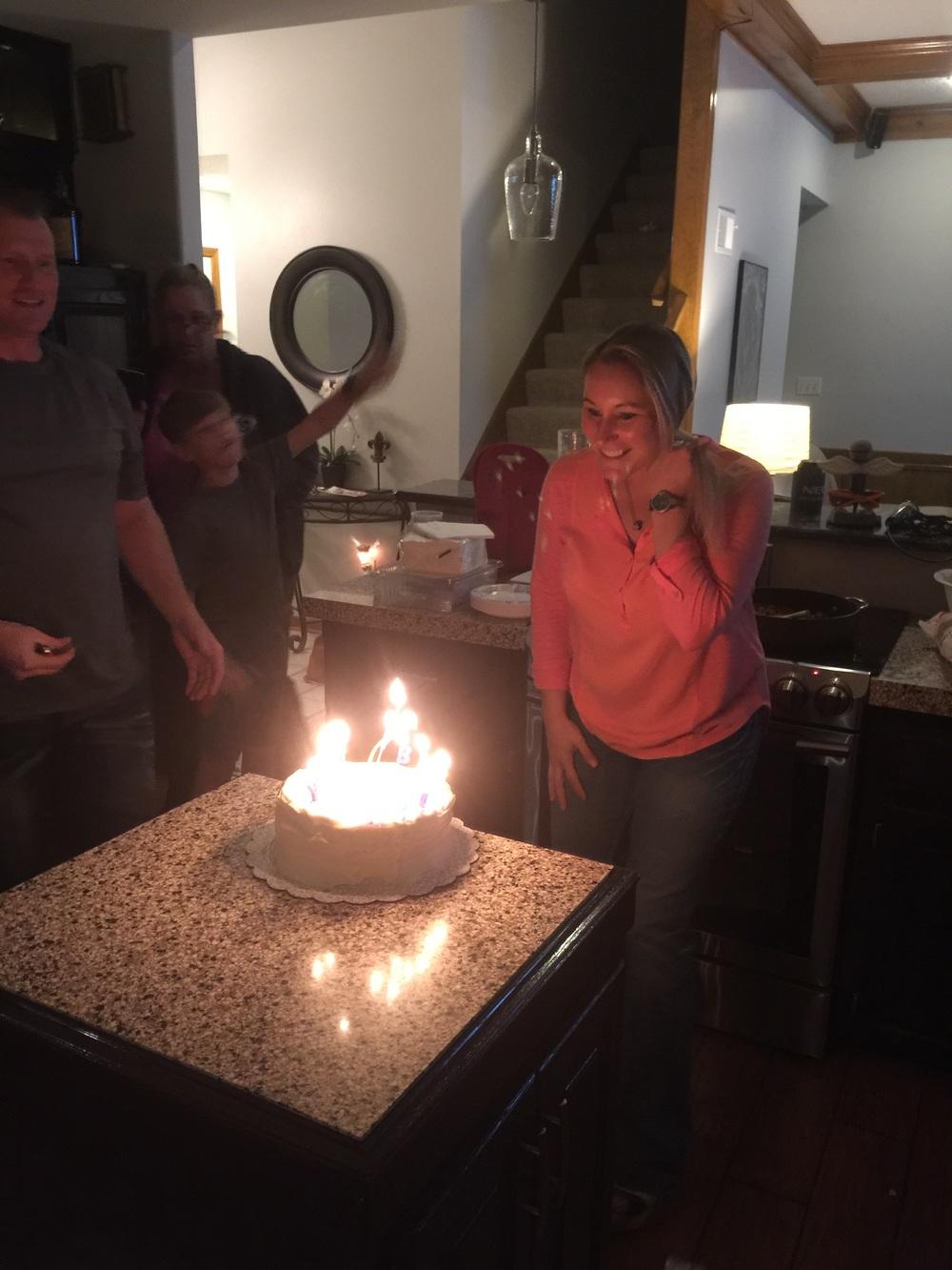 happy birthday Steph!