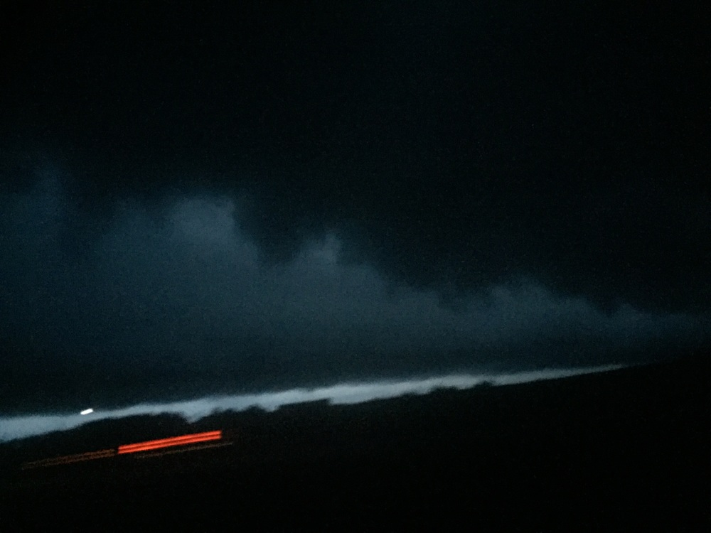 Driving into the eye of the storm