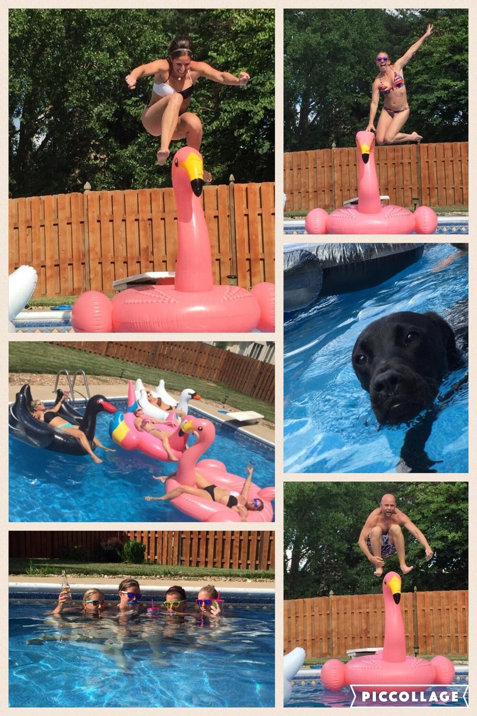 Pool days make us so happy!