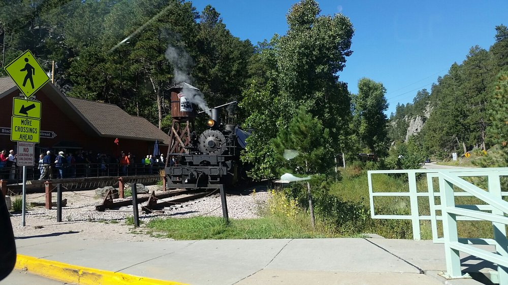 1880s Steam Train in Keystone, SD