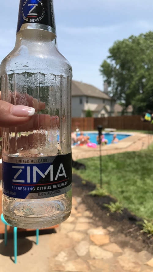 The latest advertisement for Zima, sponsored by Unfiltered Adventure